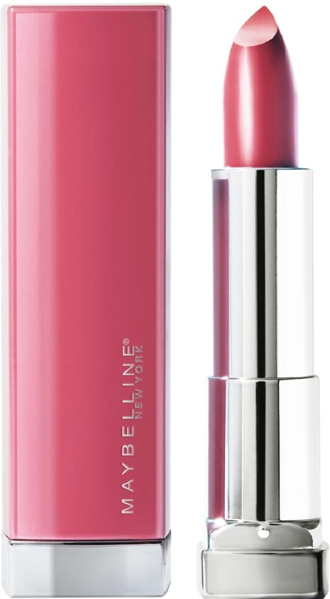Maybelline Color Sensational Made For All Lippenstift  - 376 Pink For Me - Roze - Glanzend