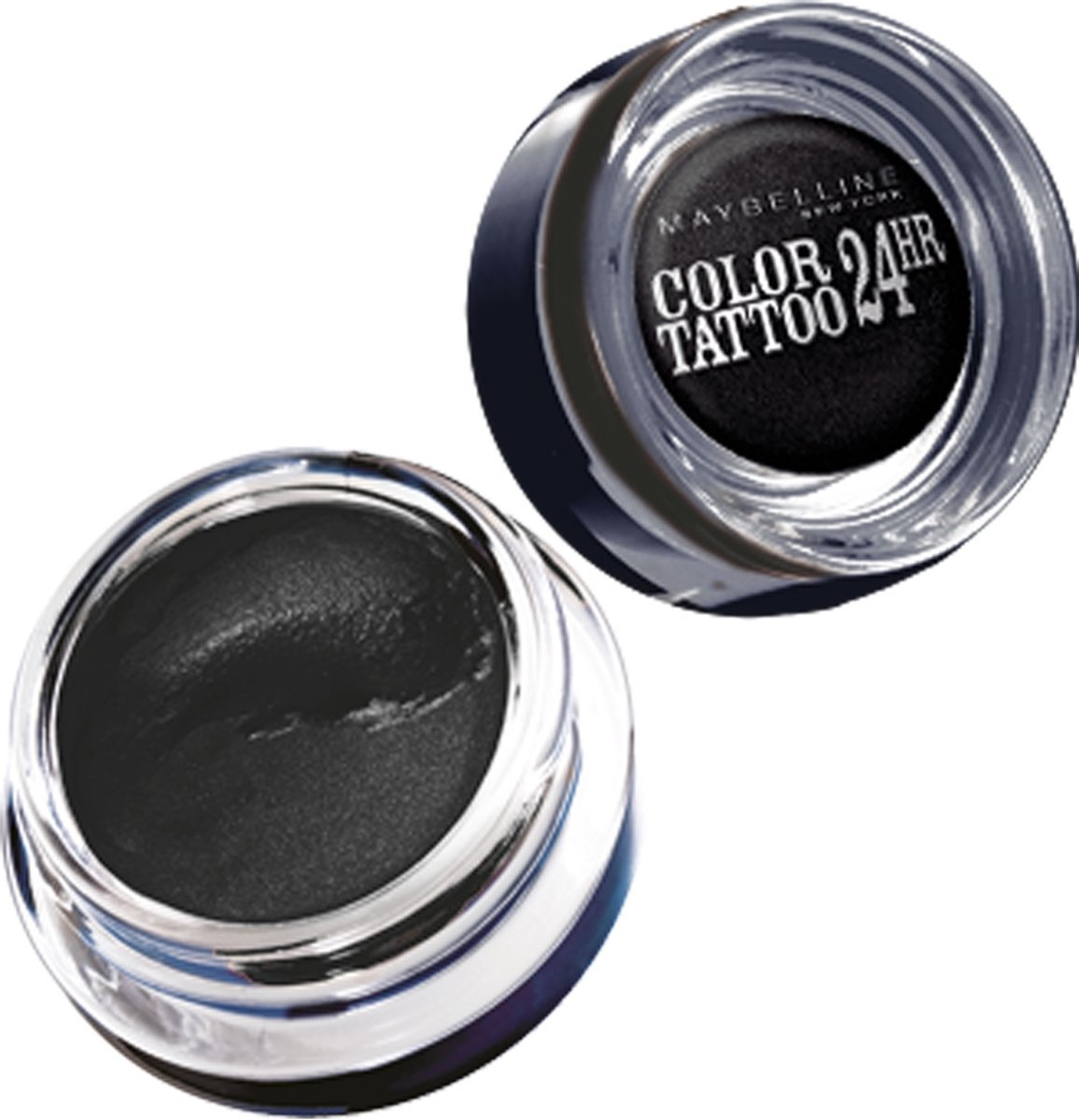 Maybelline Color Tattoo 24H - 60 Timeless Black - Zwart - Oogschaduw