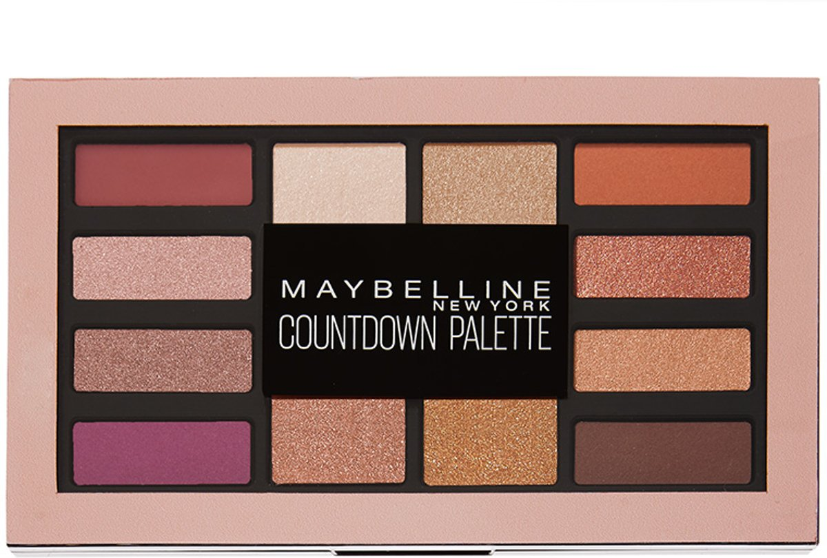 Maybelline Countdown Oogschaduwpallet - 01 Holiday