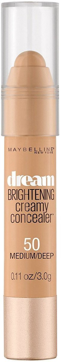 Maybelline Dream Brightening Creamy Concealer 50 Medium Deep