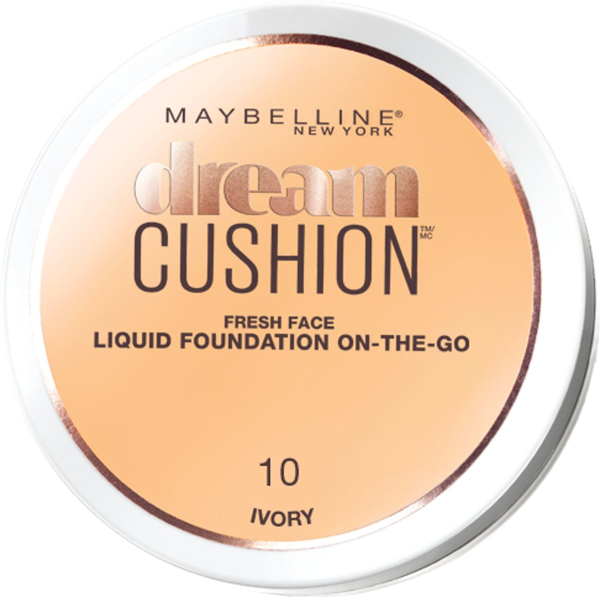 Maybelline Dream Cushion Foundation - 10 Ivory - Foundation
