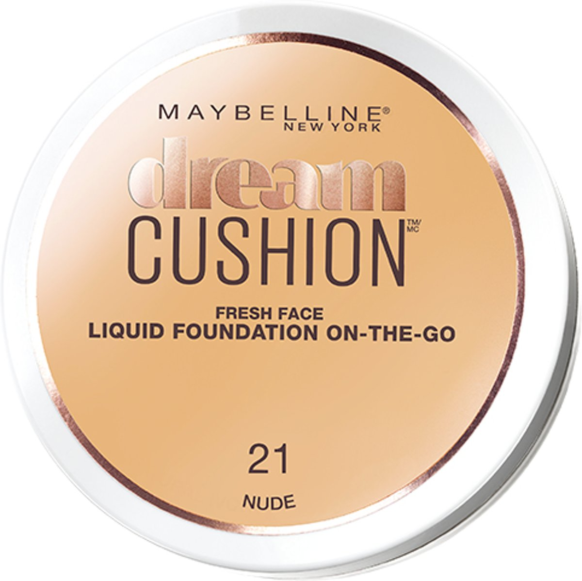 Maybelline Dream Cushion Foundation - 21 Nude - Foundation