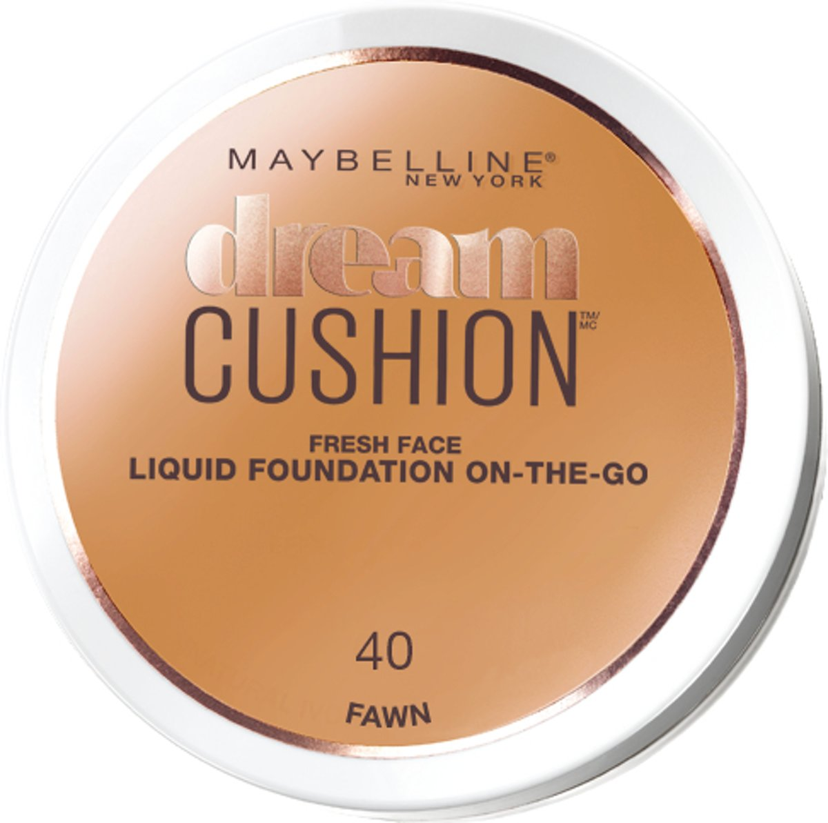 Maybelline Dream Cushion Foundation - 40 Fawn - Foundation