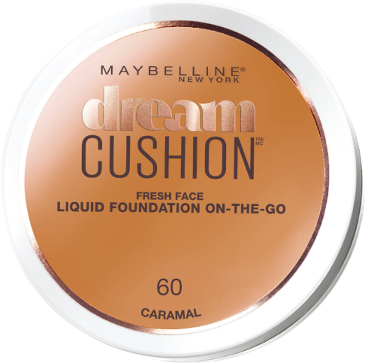 Maybelline Dream Cushion Foundation - 60 Caramel - Foundation