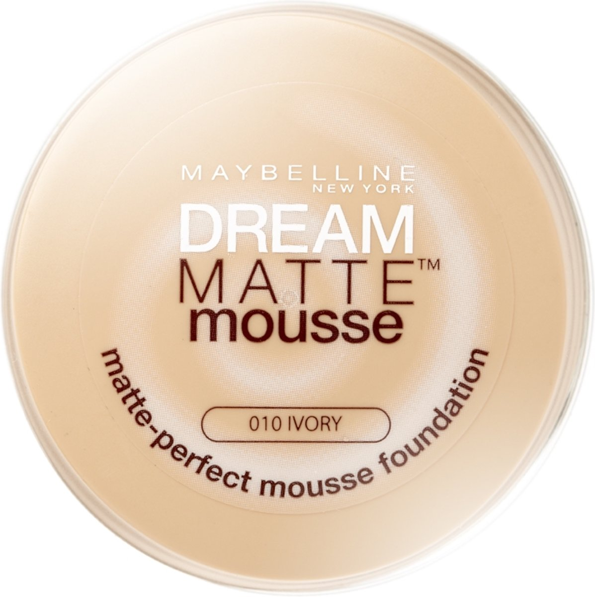Maybelline Dream Matte Mousse -  010 Ivory - Foundation
