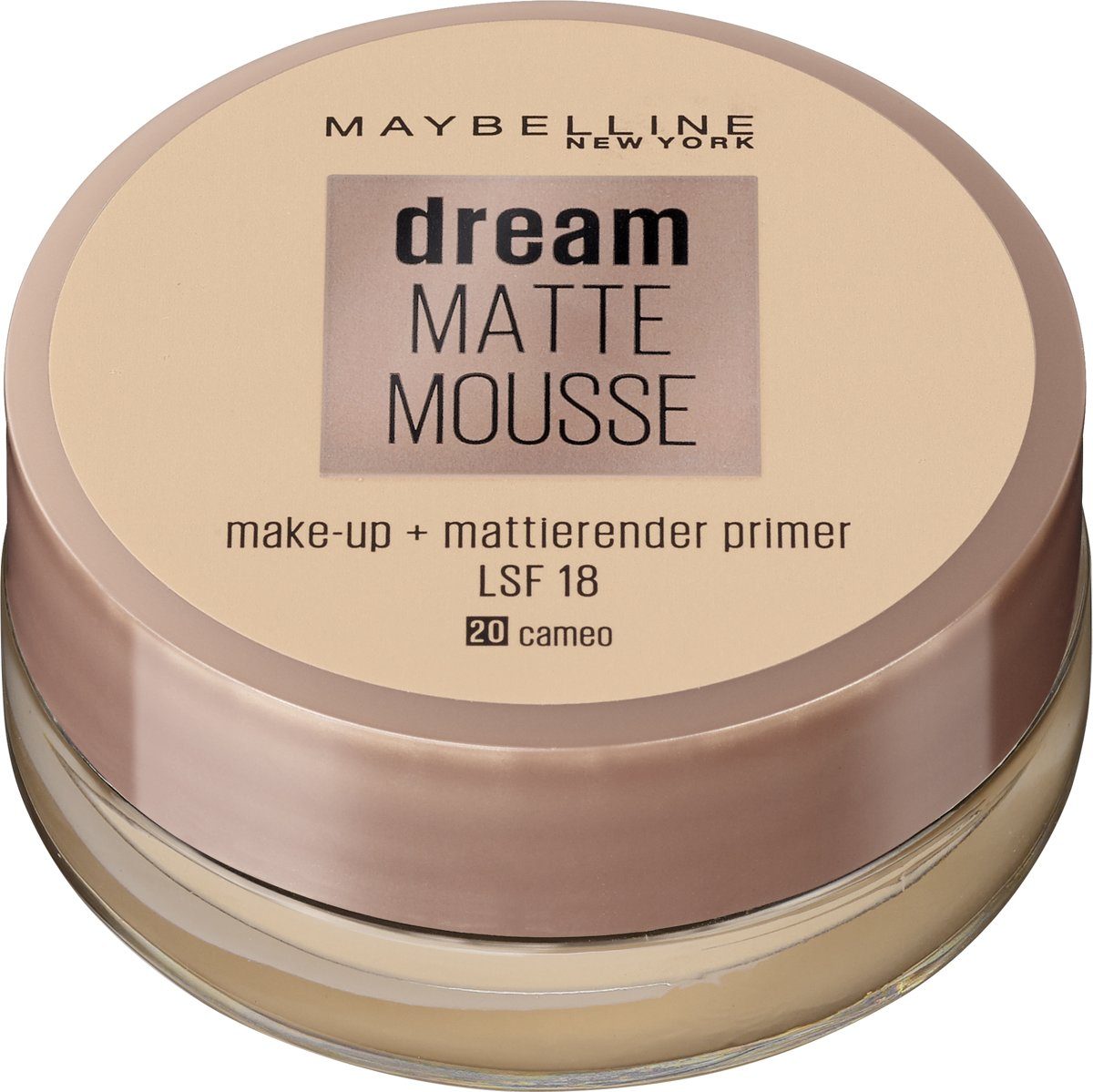 Maybelline Dream Matte Mousse - 020 Cameo - Foundation