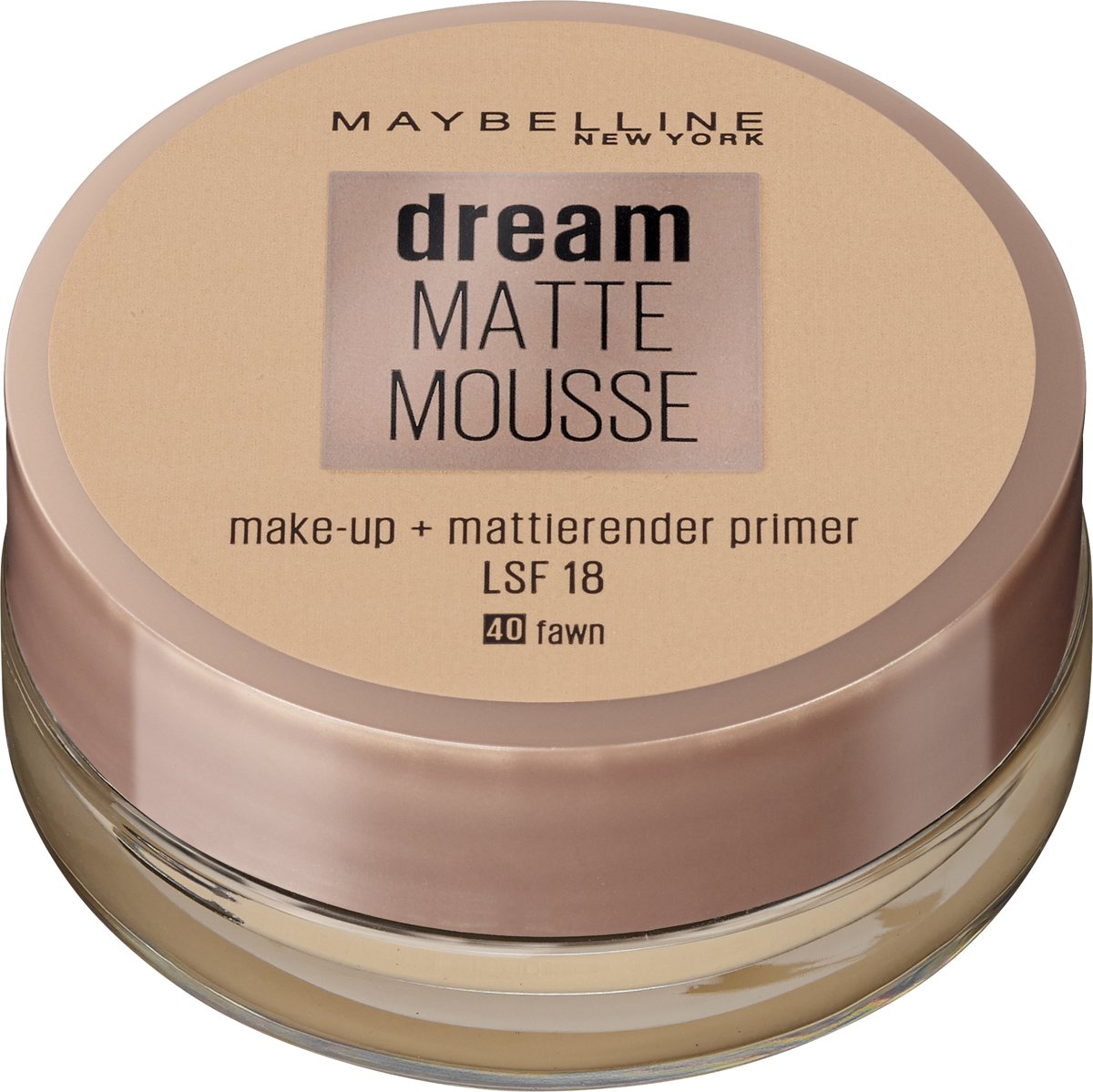 Maybelline Dream Matte Mousse - 040 Fawn - Foundation