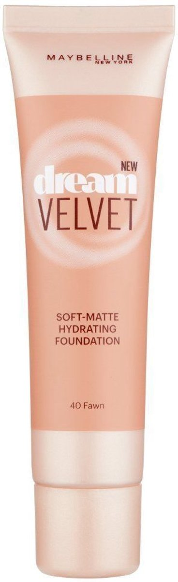 Maybelline Dream Velvet Foundation - 040 Fawn