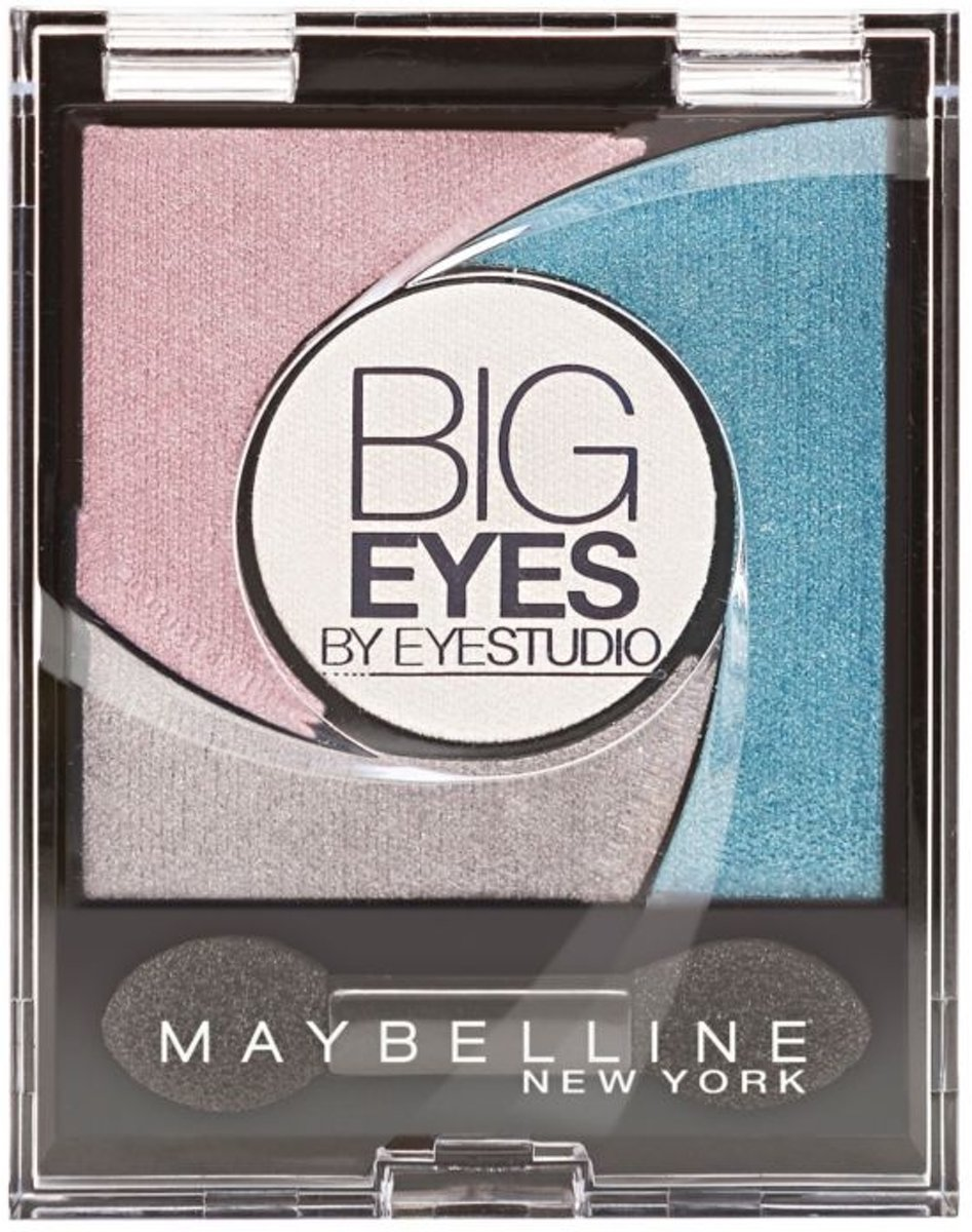 Maybelline Eye Studio Big Eyes 03 Luminous Turquoise - Oogschaduw