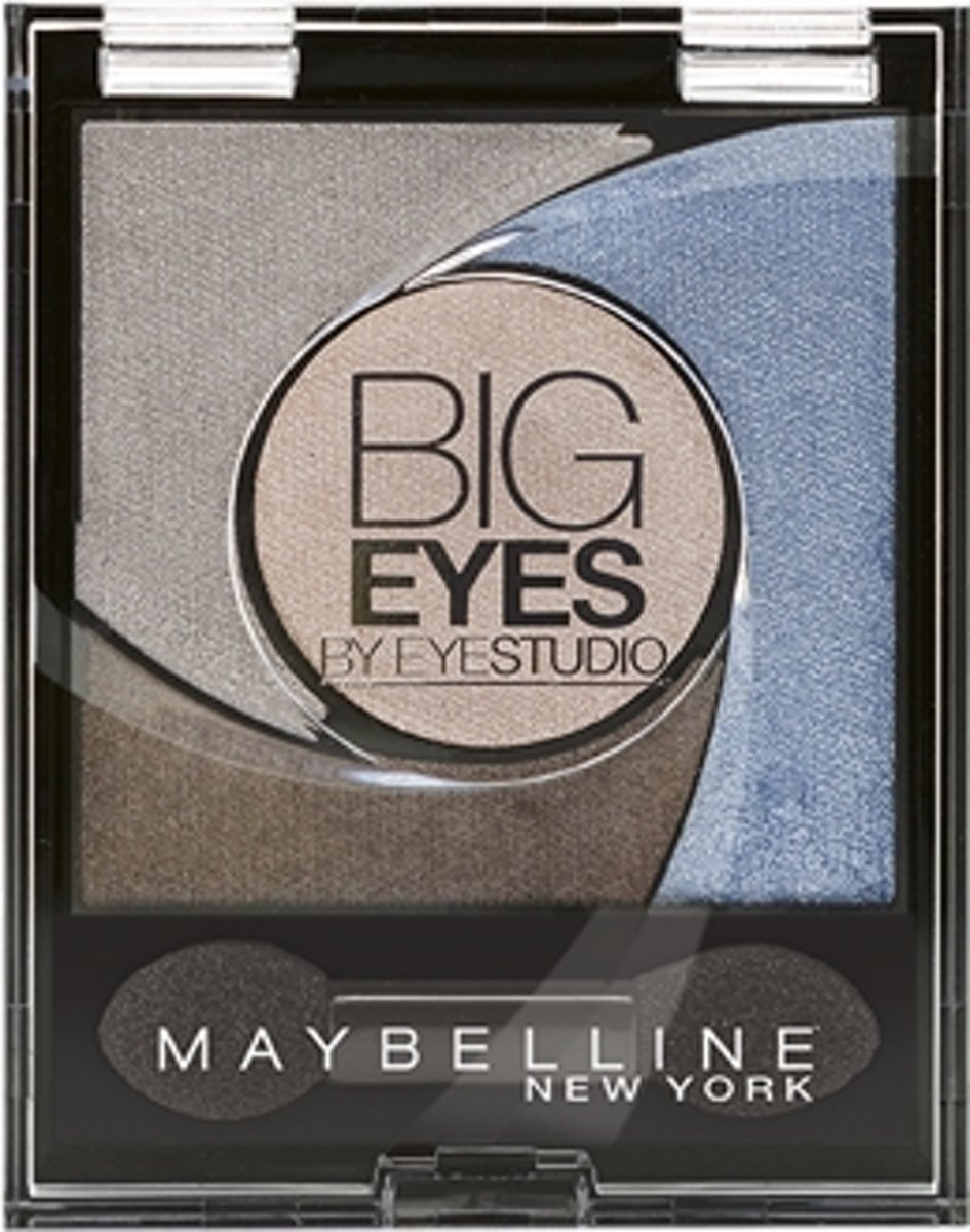 Maybelline Eye Studio Big Eyes Luminous Blue - Oogschaduw
