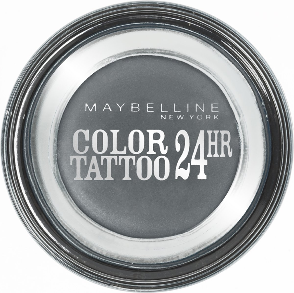 Maybelline Eyestudio Color Tattoo - 55 Immortal Charcoal - Grijs - Oogschaduw