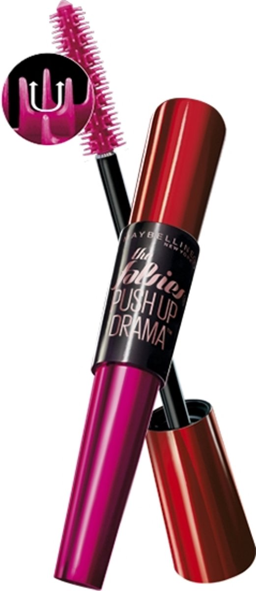 Maybelline Falsies Push Up Drama 01 Very Black wimpermascara