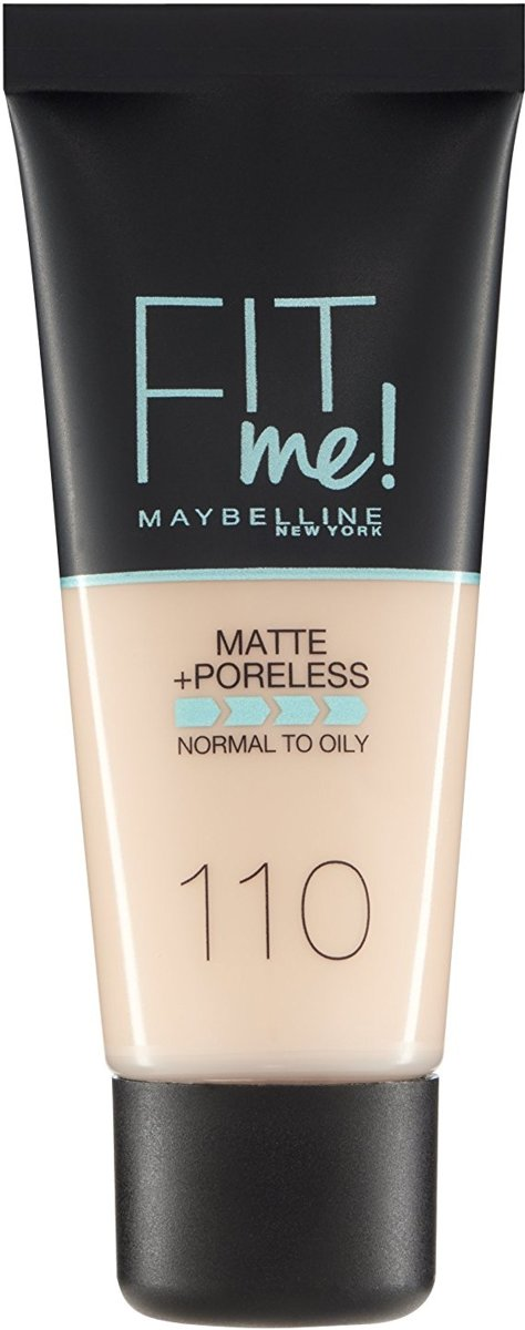 Maybelline Fit Me - 110 Porcelain - Foundation