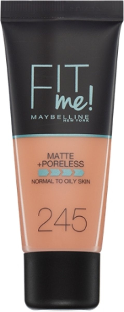 Maybelline Fit Me Matte & Poreless Foundation - 245 Classic Beige