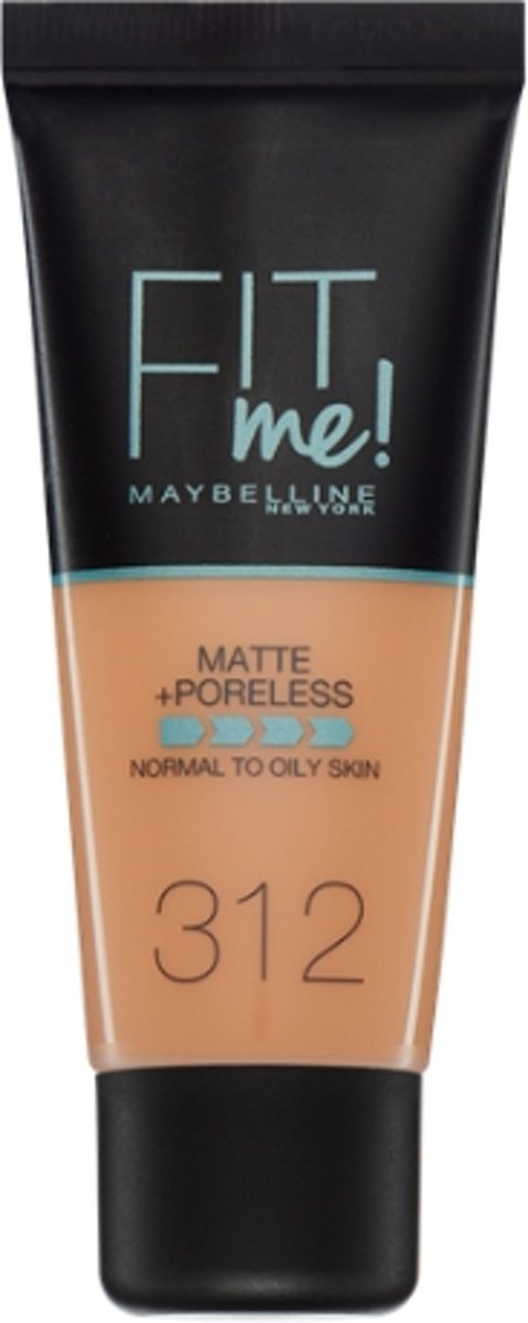 Maybelline Fit Me Matte & Poreless Foundation - 312 Go