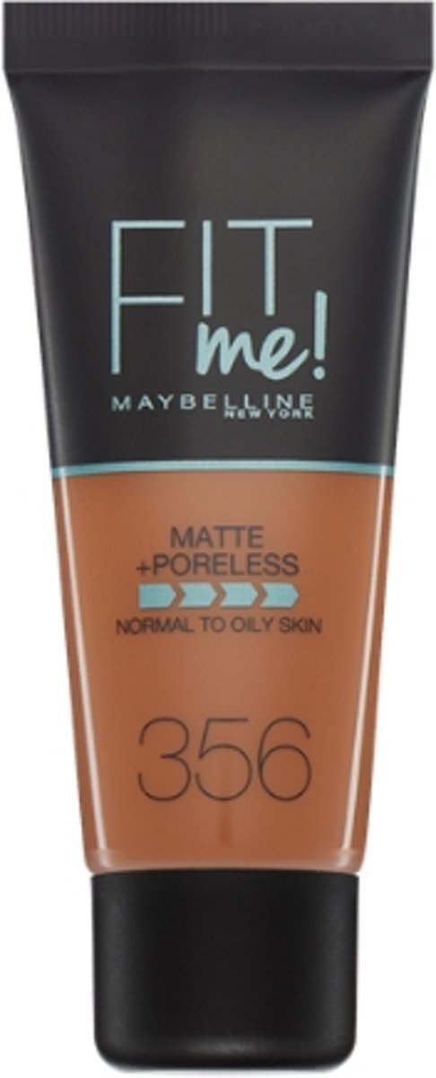 Maybelline Fit Me Matte & Poreless Foundation - 356 Warm Coconut