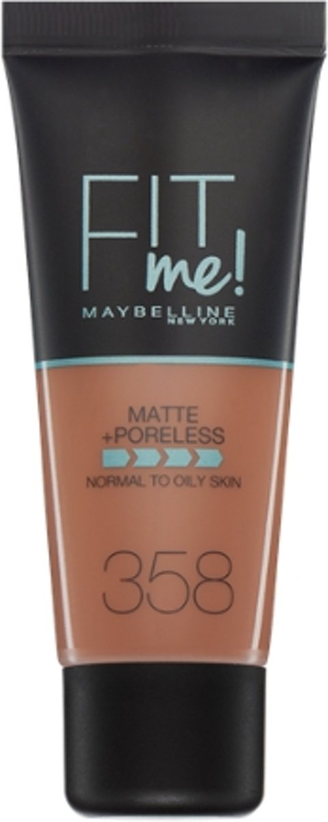 Maybelline Fit Me Matte & Poreless Foundation - 358 Latte