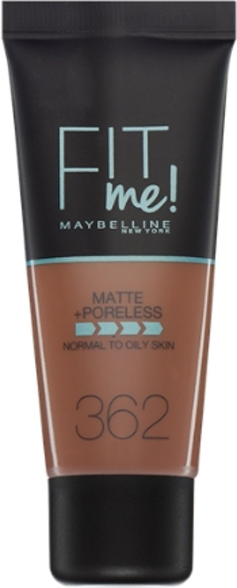 Maybelline Fit Me Matte & Poreless Foundation - 362 Deep Golden