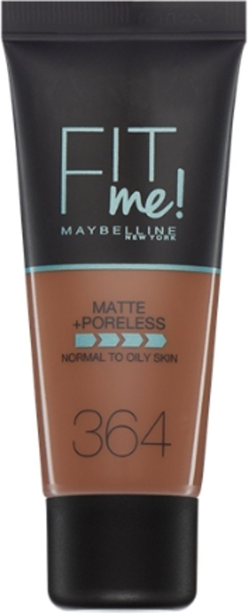 Maybelline Fit Me Matte & Poreless Foundation - 364 Deep Bronze