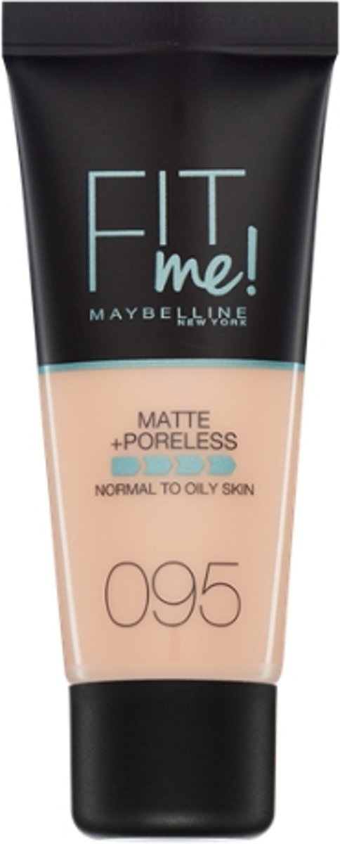 Maybelline Fit Me Matte & Poreless Foundation - 95 Fair Porcelain