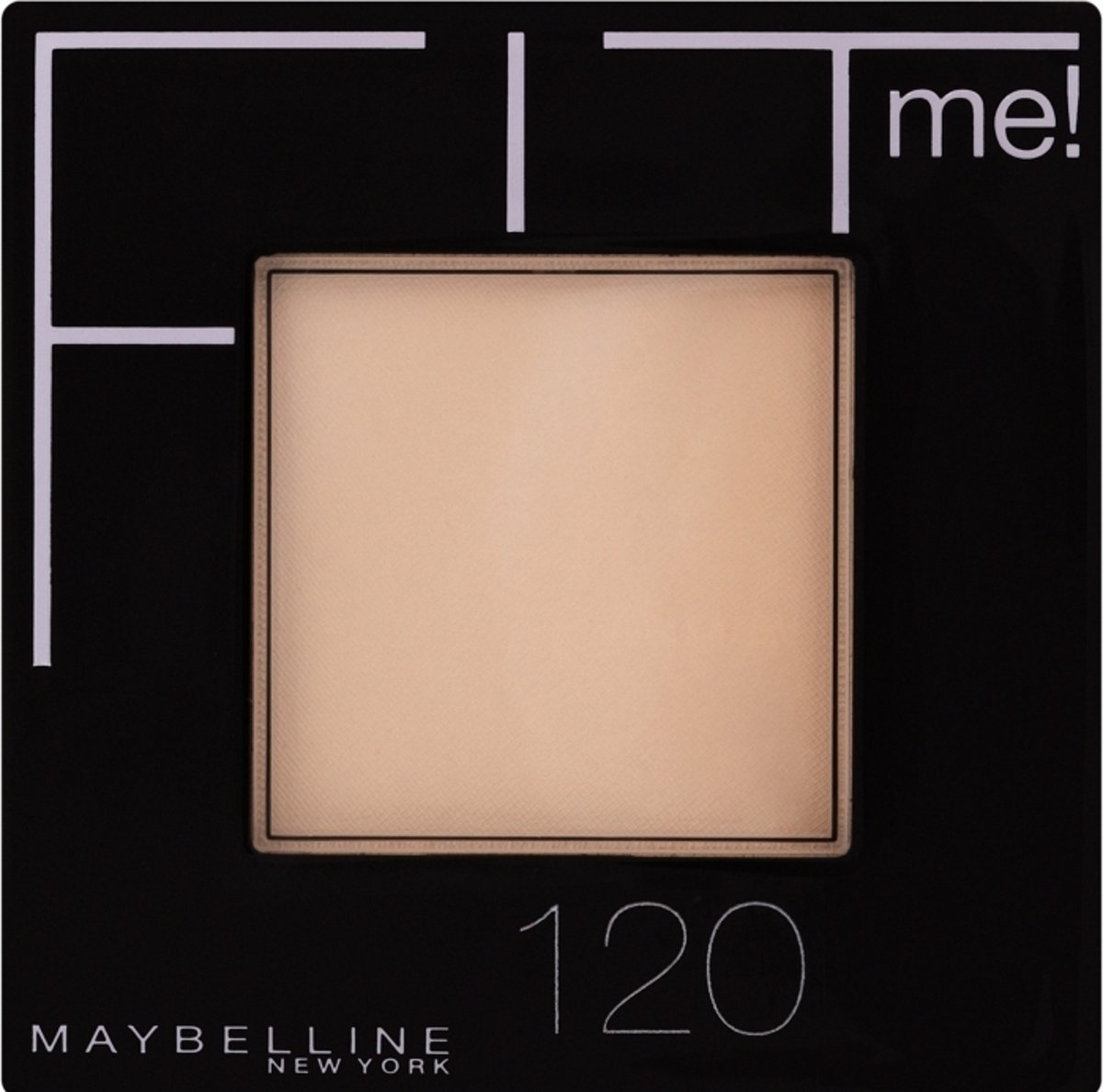 Maybelline Fit Me Pressed Powder - 120 Classic Ivory