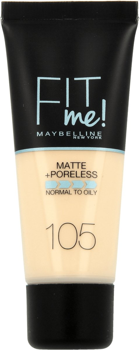 Maybelline Fit me - 105 Natural Ivory - Foundation