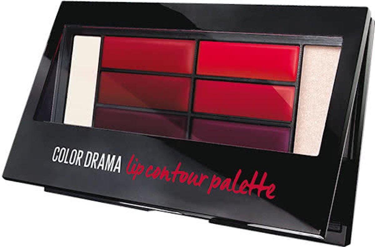Maybelline Liner Studio Color Drama - 2 Crimso - Lip Contour Palette