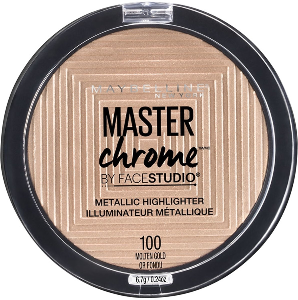 Maybelline Master Chrome Highlighter - 100 Molten Gold