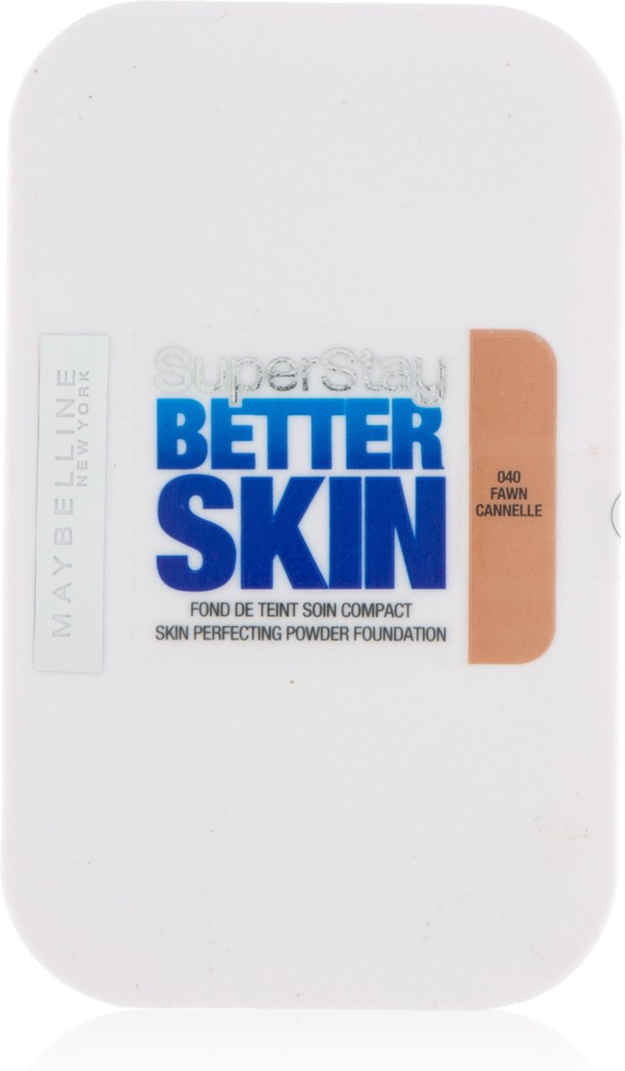 Maybelline Super Stay Better Skin Powder 24H - 40 Fawn - Poeder
