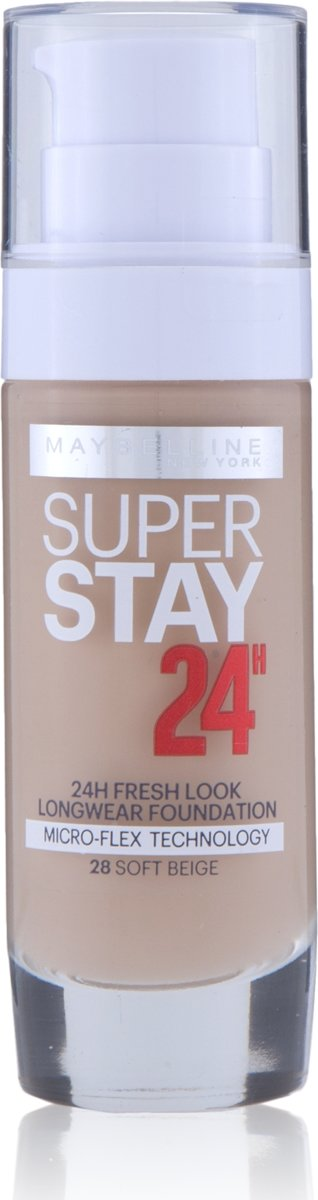 Maybelline SuperStay 24H - 28 NU Soft Beige - Foundation