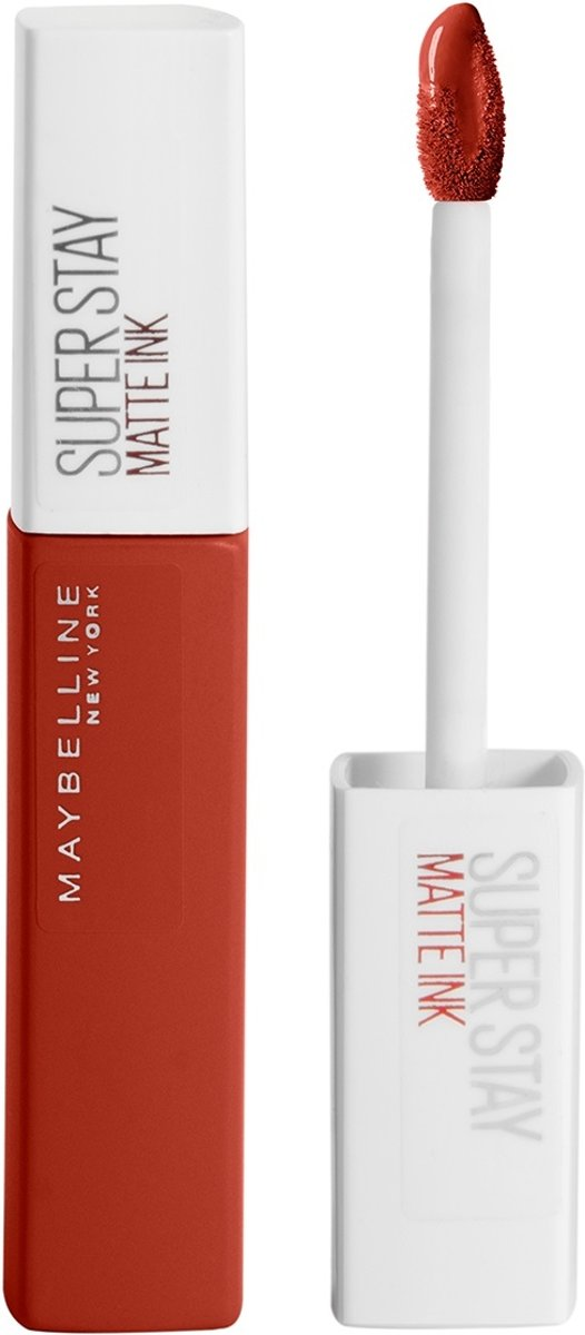 Maybelline Superstay Matte Ink Lippenstift  - 117 Ground Breaker - Rood - Vloeibare Matte Lipstick