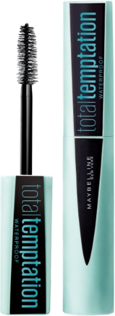 Maybelline Total Temptation Waterproof Mascara - 001 Zwart