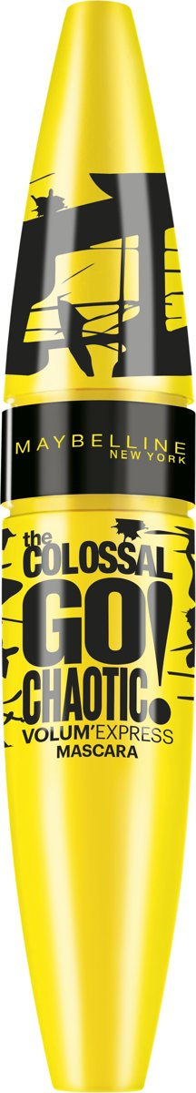 Maybelline VolumExpress Colossal Go Chaotic! - Zwart - Mascara
