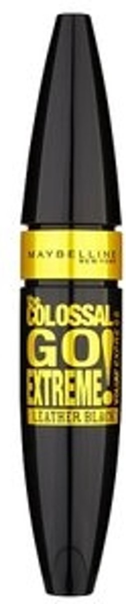 Maybelline VolumExpress Colossal Go Extreme! Leather Black - Zwart - Mascara