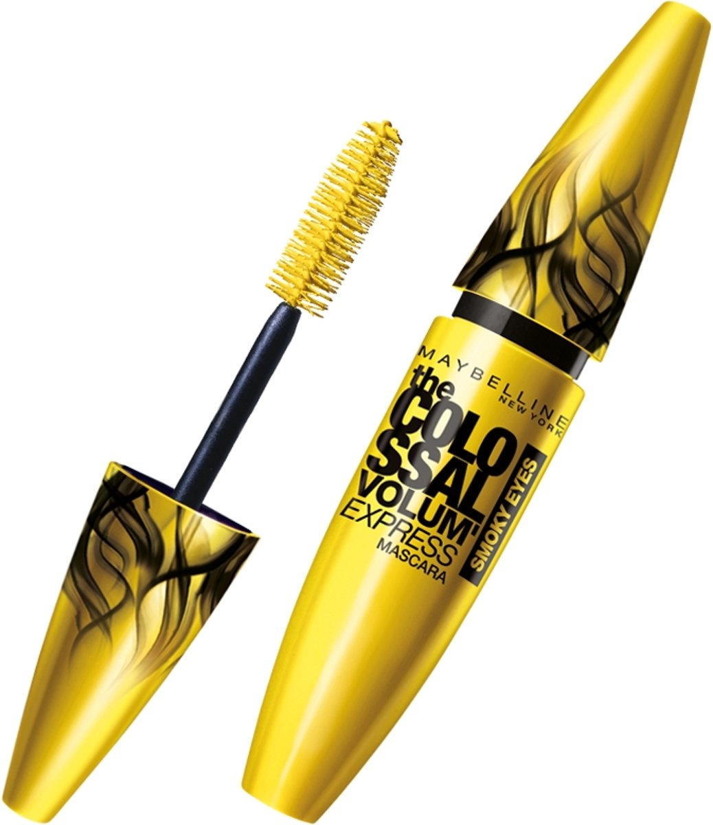 Maybelline VolumExpress Colossal Smoky Dangerous - Zwart - Mascara