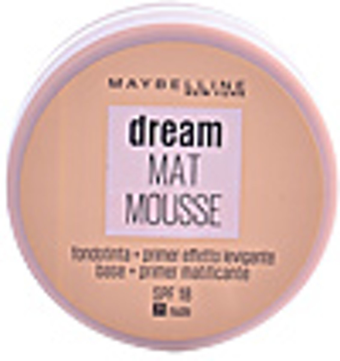Mousse Make-up Foundation Dream Matt Maybelline (18 ml)