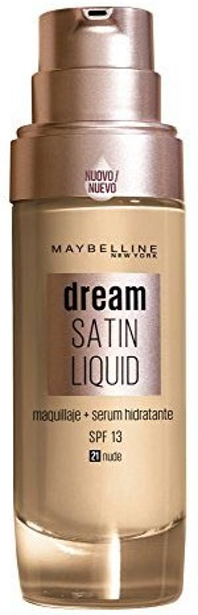 Vloeibare Foundation Dream Satin Liquid Maybelline (30 ml)