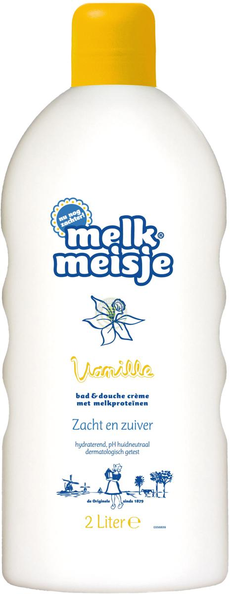 Melkmeisje Vanille - 2000 ml - Bad- & Doucheschuim