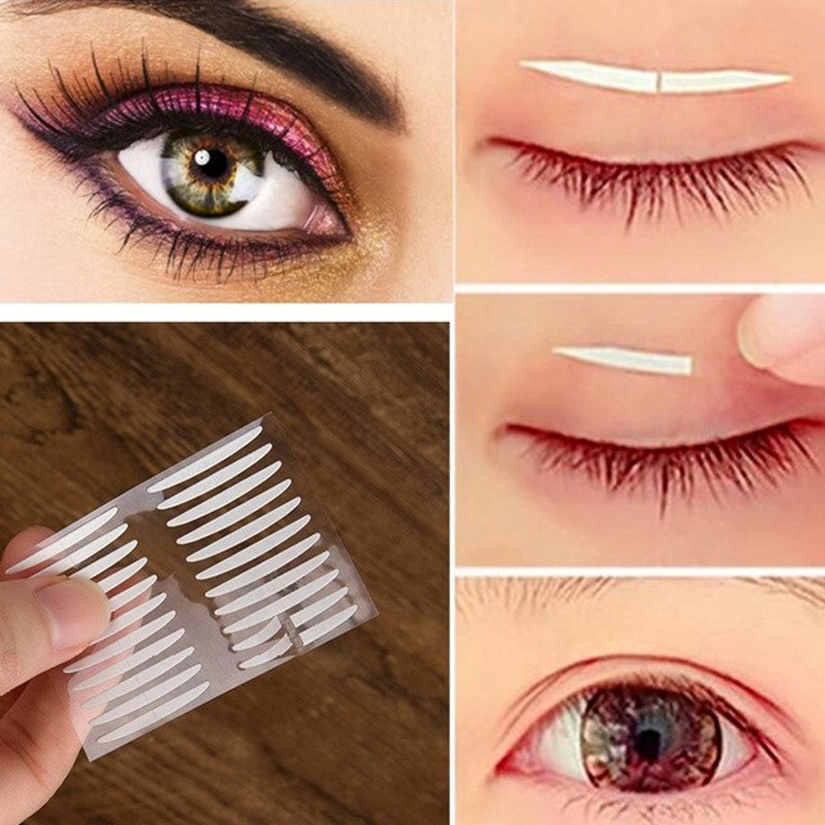 240 Stuks Ooglidstickers | Luxe Ooglidtape | Ooglidcorrectie | Eyelidtape | Tape | Oog Strips | Oog Make-up | Ooglidtape | Oogcorrectie Strips | Eyelid tapes | Oogleden stickers | Ooglid | 240 X Ooglid tape