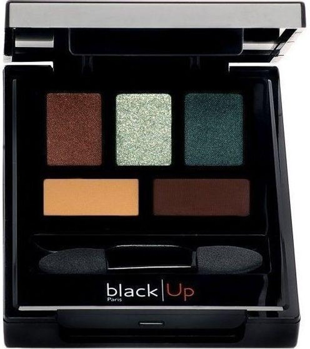 5 Colour Eyeshadow PAL 03 Green