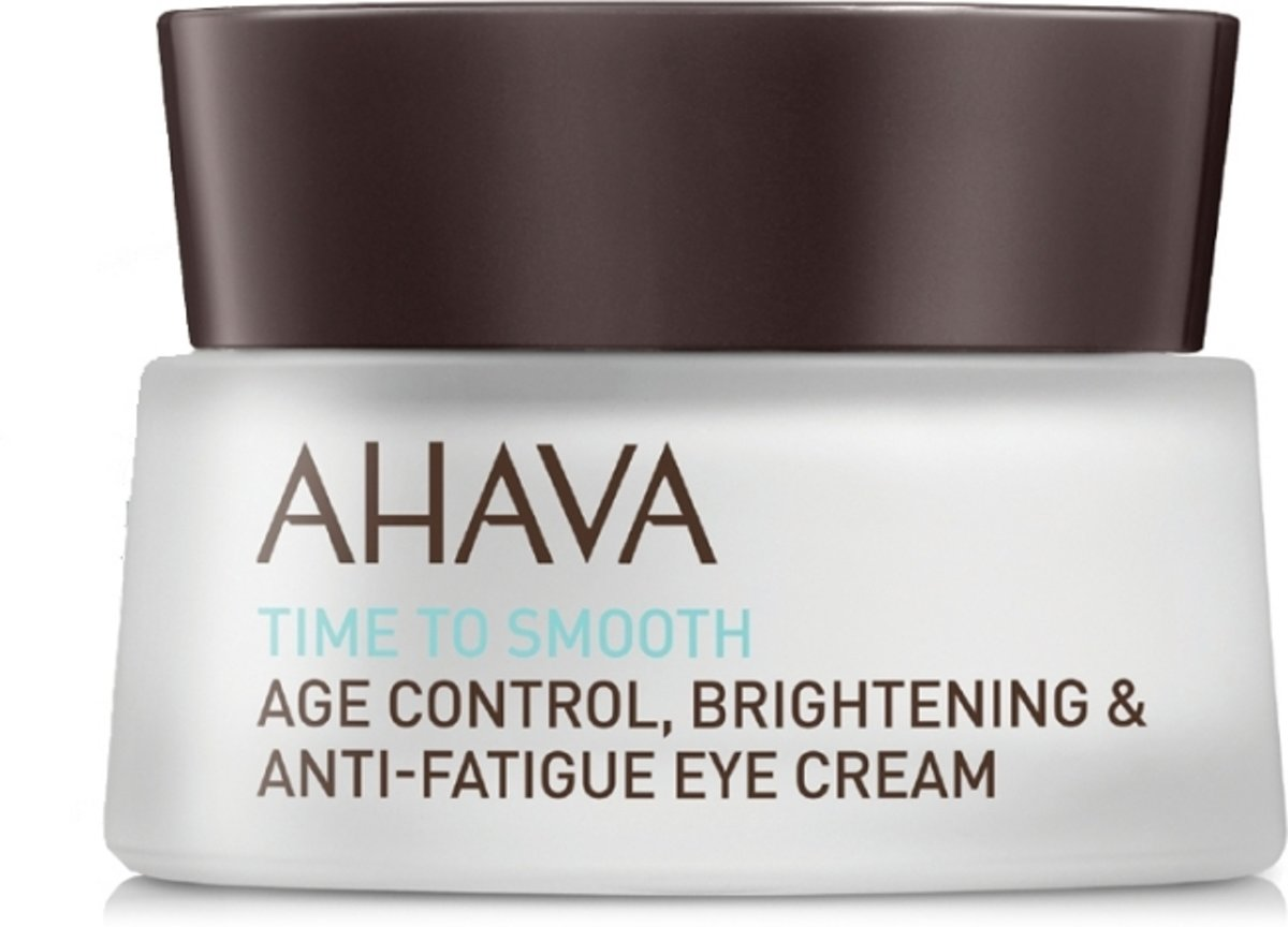 AHAVA Time to Smooth Age Control Birghtening & Anti-Fatigue Eye Cream Oogcrème 15 ml