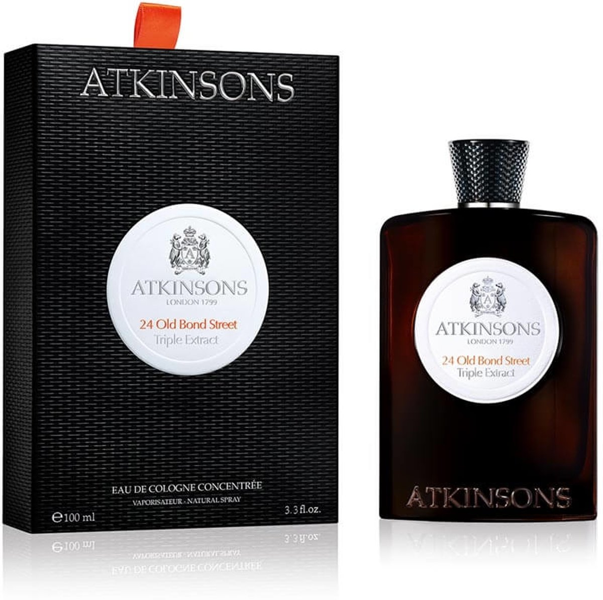 Atkinsons 1799 24 Old Bond Street Triple Extract 100ml eau de cologne