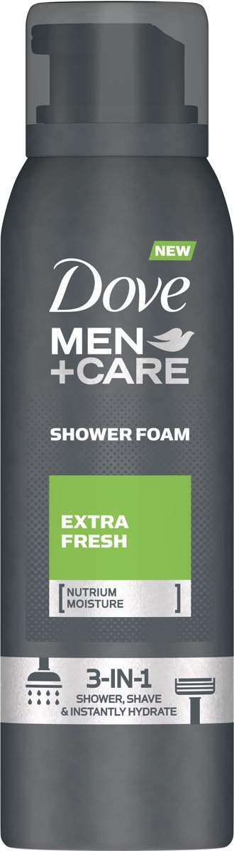 Dove Men + Care Extra Fresh Shower Foam - 200 ml