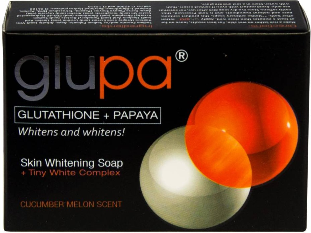Glupa Powerful Whitening zeep 135 gr