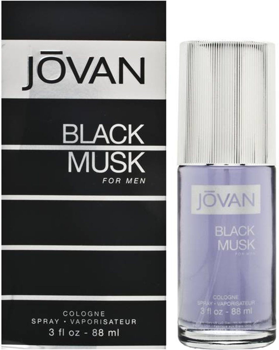 Jovan Black Musk Man - 90ml - Eau de cologne
