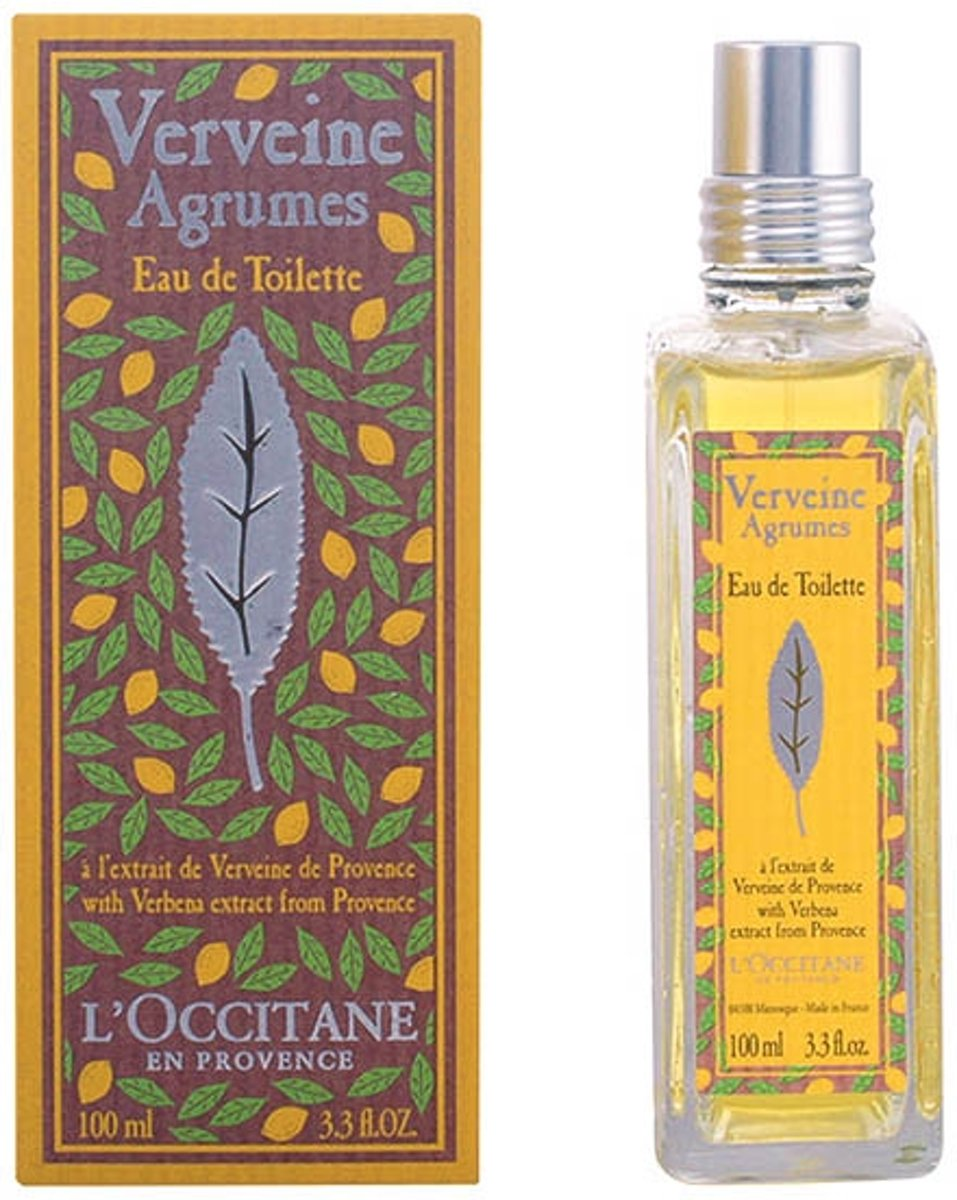 L?occitane VERVEINE agrumes eau de toilette spray 100 ml