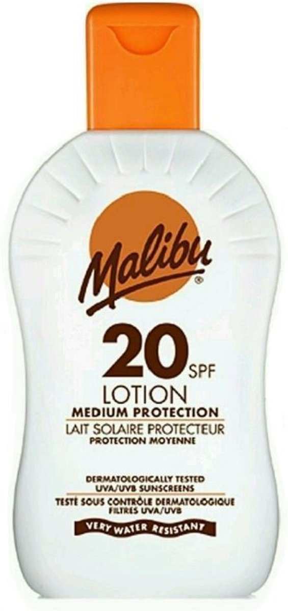 Malibu Kids Zonnebrand Lotion SPF 20 100 ml