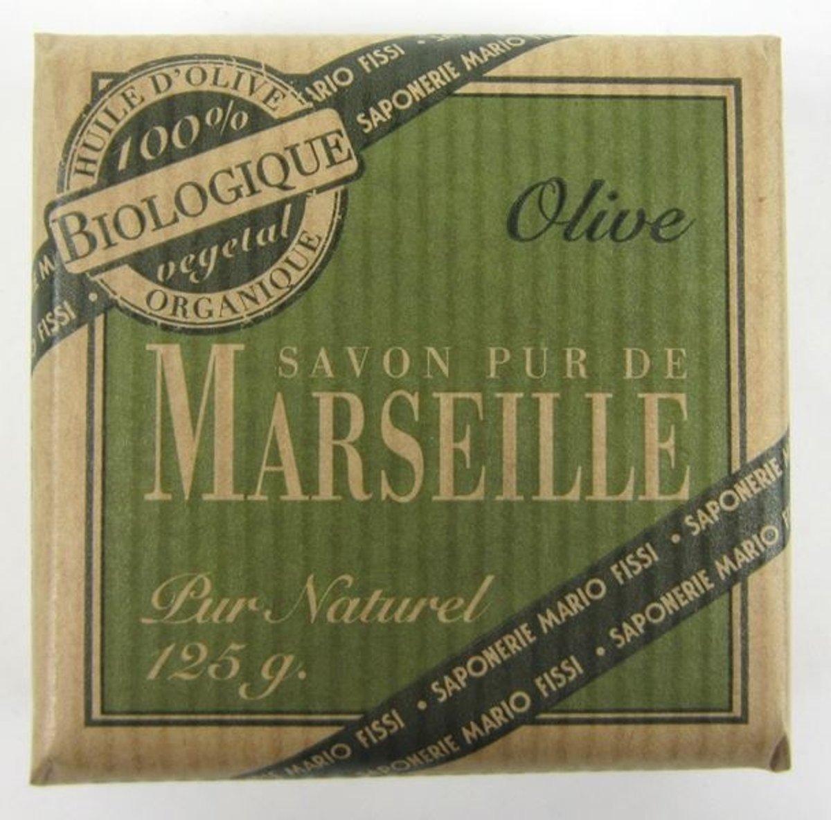 organic marseille soap 125 gr olive in e 8003085306526 prijs. Black Bedroom Furniture Sets. Home Design Ideas