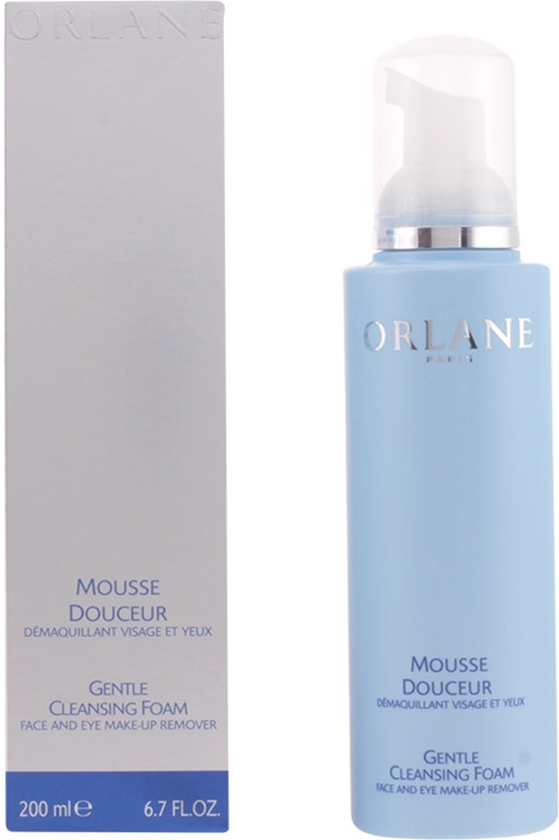 Orlane Gentle Cleansing Foam Face And Eye Makeup Remover 200ml