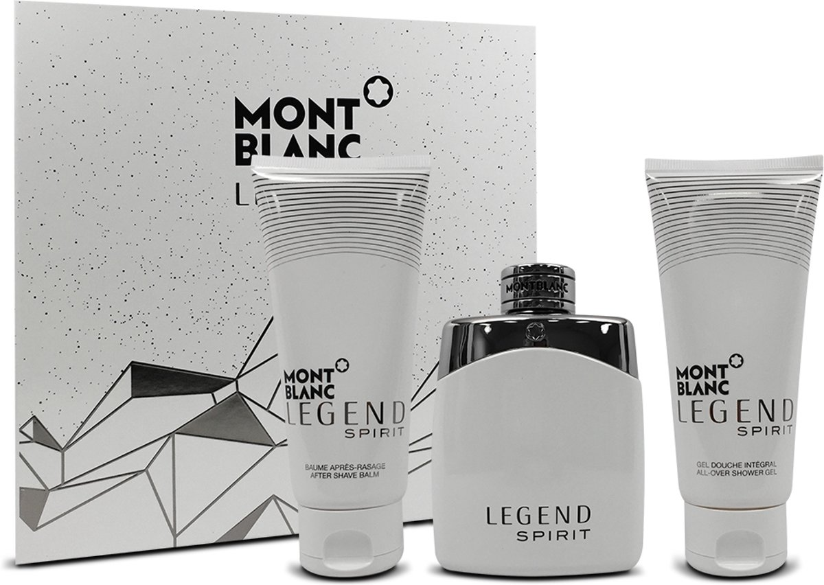 Legend Spirit SET Eau de toilette spray 100ml + AS 100ml + shower gel 100ml